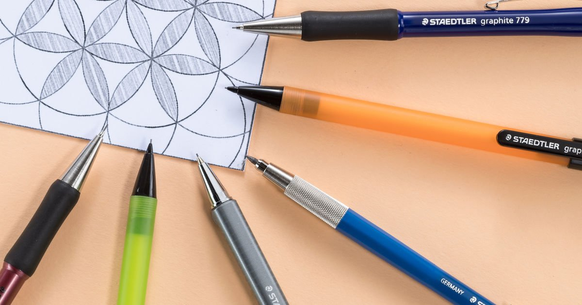 mechanical pencils and lead holders